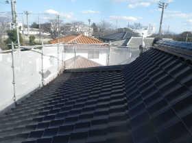 屋根の下地処理について