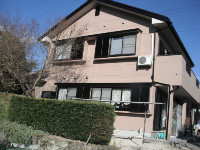 ALC壁の住宅
